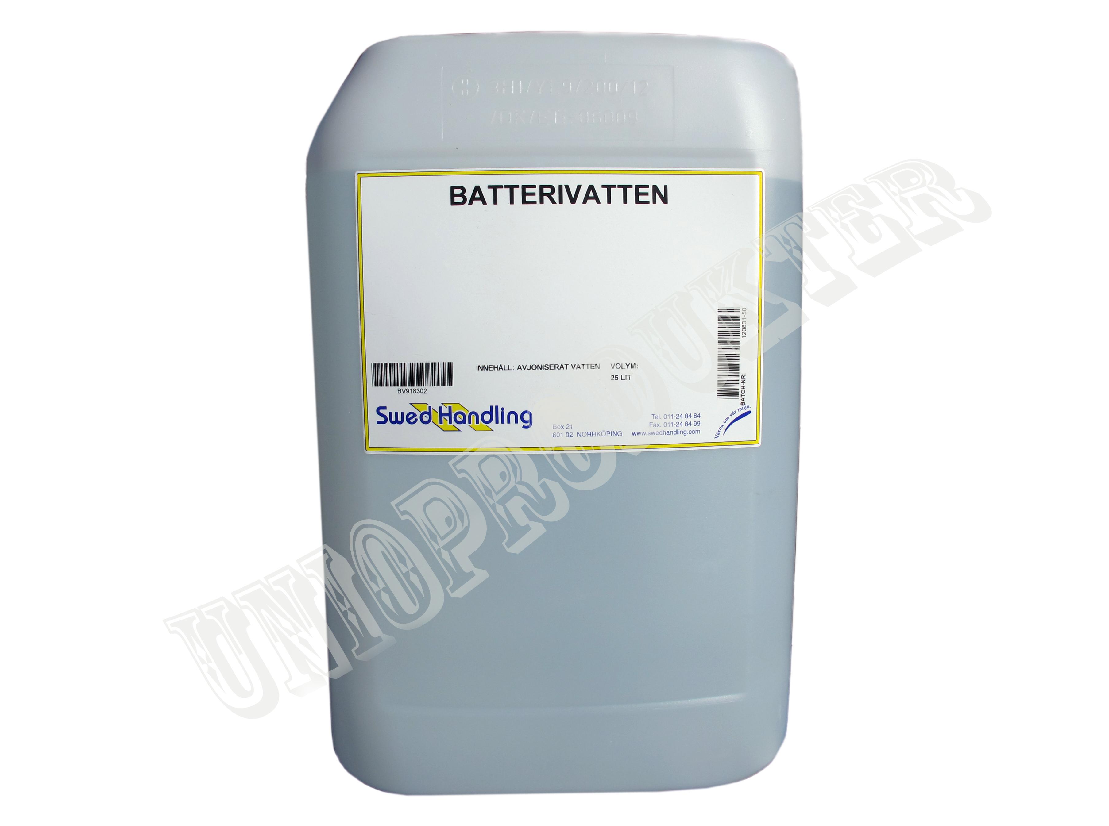 Batterivatten 25 liter
