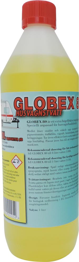 Globex 80 Husvagnstvätt 1,5 liter