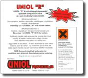 """Uniol """"R"""" Alltvätt 1L"""