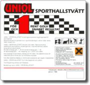 """Uniol """"1"""" Sporthallstvätt 1 L"""