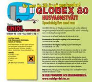 Globex 80 Husvagnstvätt med vax 15 liter