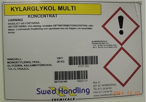 Long-Life (Ofärgad, etylen) Multi-Glykol 25L